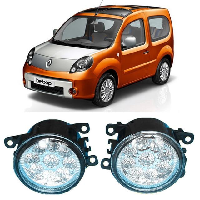 For Renault Kangoo Be Bop Kw0 Kw1 Mpv 2009 2015 Car Led Drl Daytime