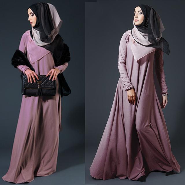 Preself Women Autumn winter Fashion Muslim Long Sleeve Knit Maxi Long Abaya wrap Dress Plus Size Dresses vestidos No package