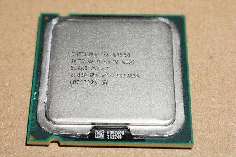 Intel Core 2 Quad Q9550 Processor 2 83GHz 12MB L2 Cache FSB 1333 Desktop LGA 775 Intel Core 2 Quad Q9550 Processor 2.83GHz 12MB L2 Cache FSB 1333 Desktop LGA 775 CPU