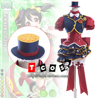 love live cosplay NICO YAZAWA cosplay costume fruit suit Halloween uniform party dress free shipping custom made