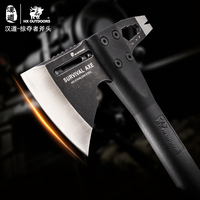 HX OUTDOORS Multifunctional Axe Camping Hunt Artillery Fire Rescue Axe Hammer Rescue Outdoor Tactical axes