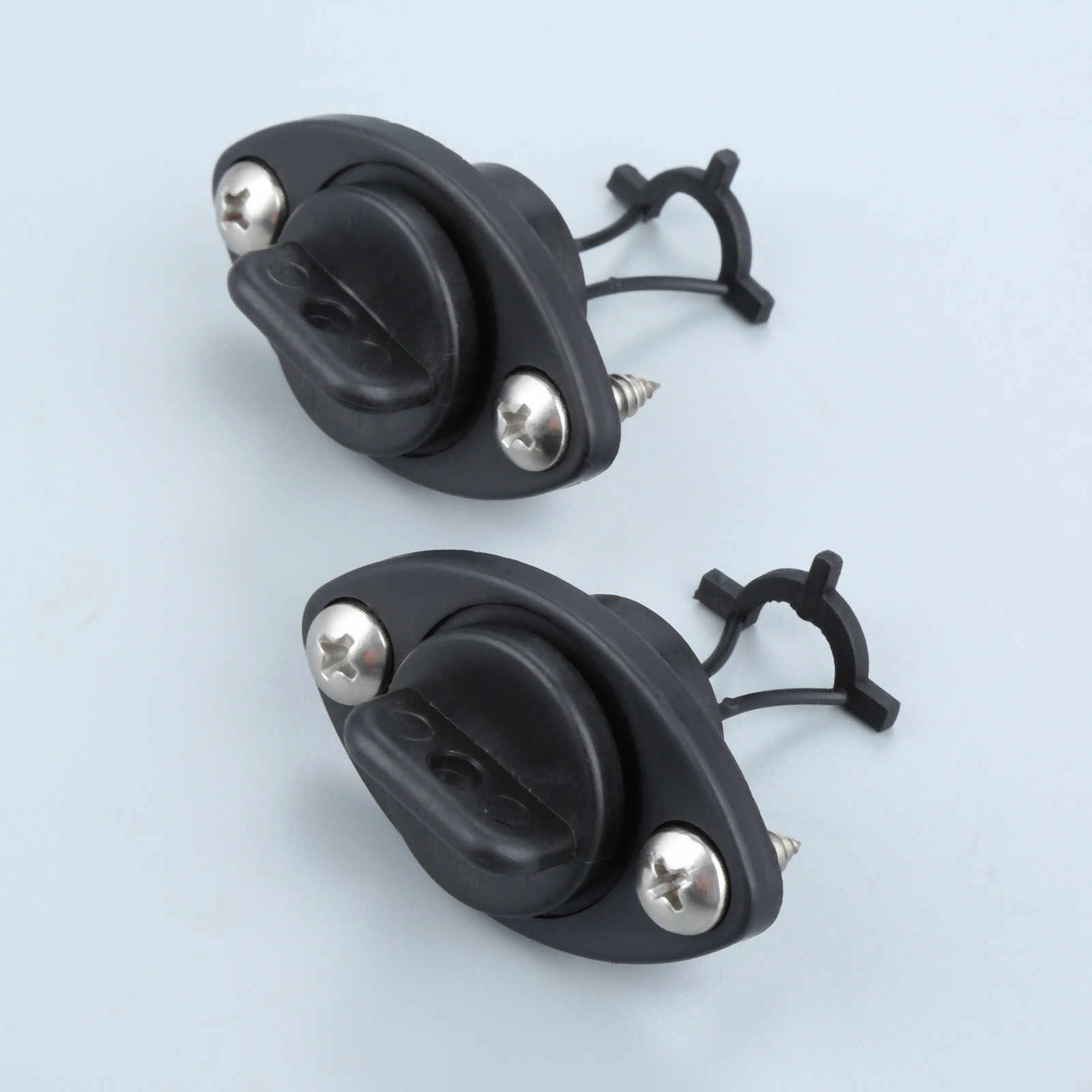 2pcs//set universal drain plug kit plugs bung for dinghy kayak canoes boat Pq