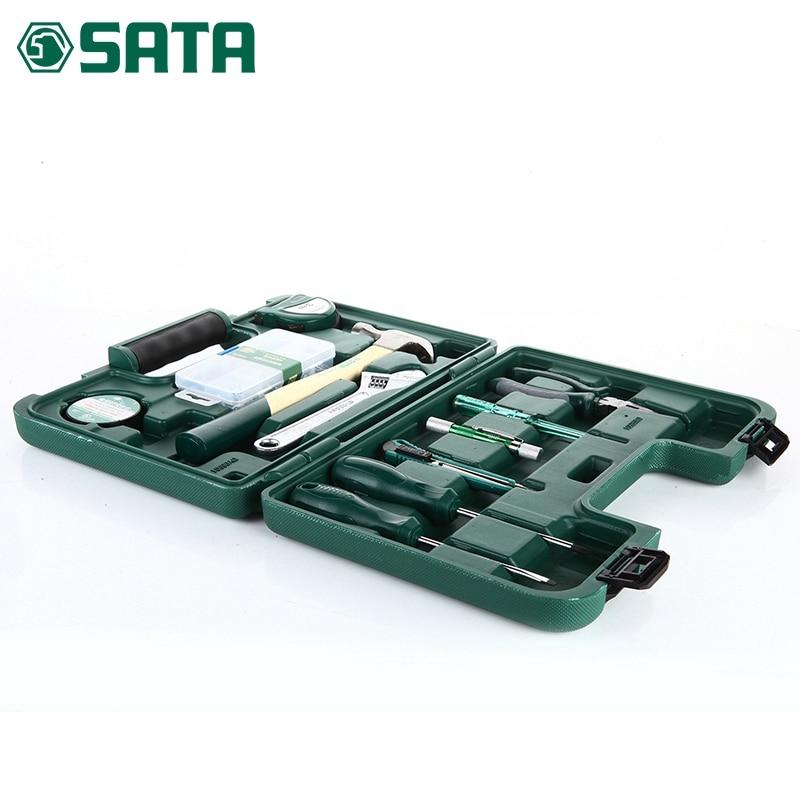 sata 21pcs hardware hand tools, household toolbox, set of family 21 combination set PDY06501 sata 21pcs hardware hand tools household toolbox set of family 21 combination set pdy06501