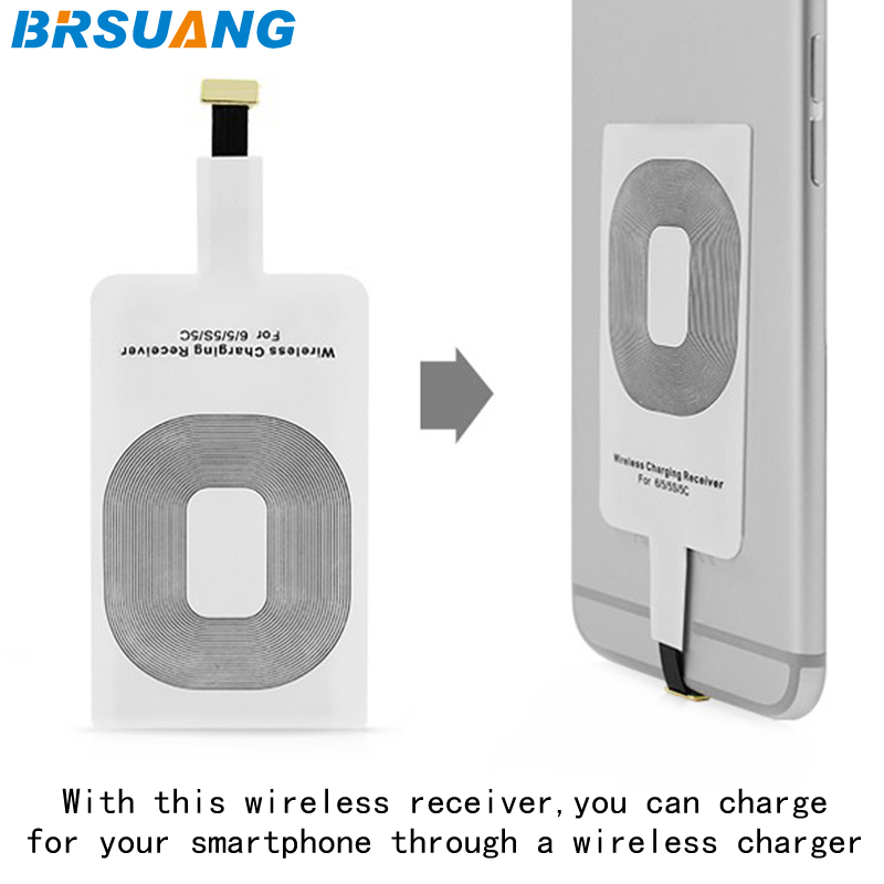 200pcs/lot Qi Wireless Charging Receiver Adapter Card Chip