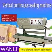 Vertical FR-900 comercial hogar pequeño aumento automático máquina de sellado automático continuo máquina de sellado líquido