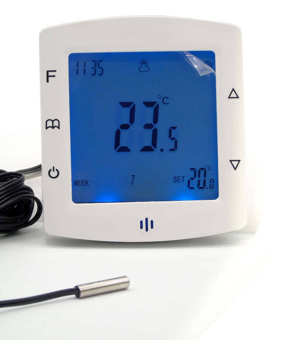 купить  IEC  Certification Programmable Floor Heating Thermostat with To protect floor sensor  онлайн