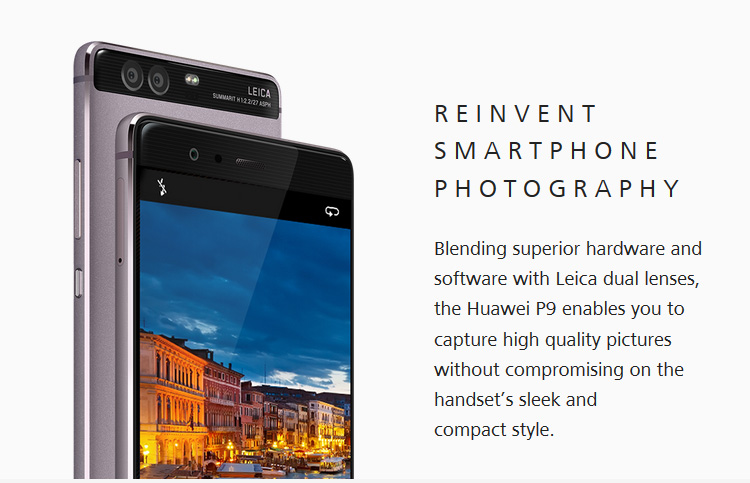HUAWEI P9 3GB RAM 32GB ROM Hisilicon Kirin 955 2 5GHz Octa Core 5 2 Inch  2 5D FHD Screen Android 6 0 4G LTE Smartphone