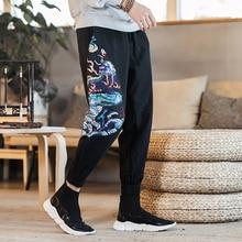 US $43.19 10% OFF|Top Marke Mens Cargo Jeans Hosen Loch Ripped Hip Hop Designer Baggy Jeans Herren Lose Fit Casual Hosen Baumwolle Größe 40 42 in