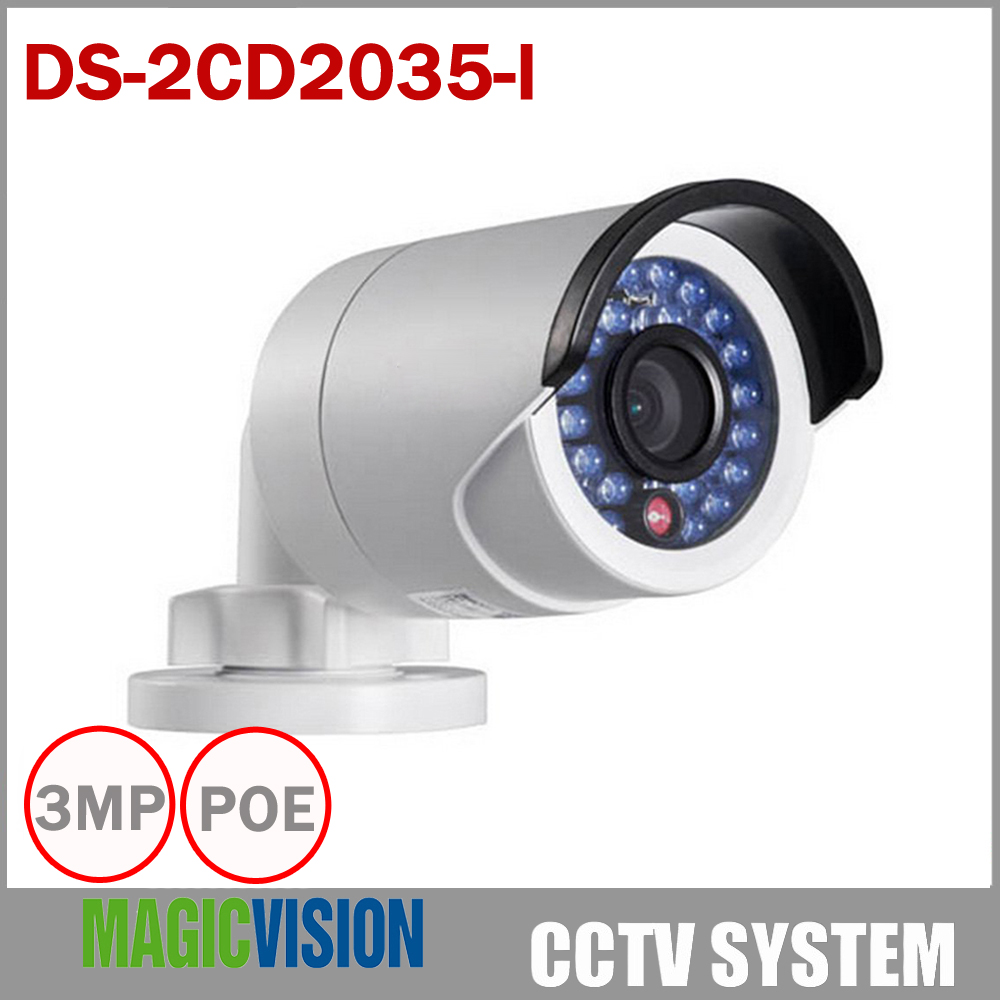 Multi language Full HD 1080P DS 2CD2035 I Instead DS 2CD2032F I IP Camera Mini Outdoor