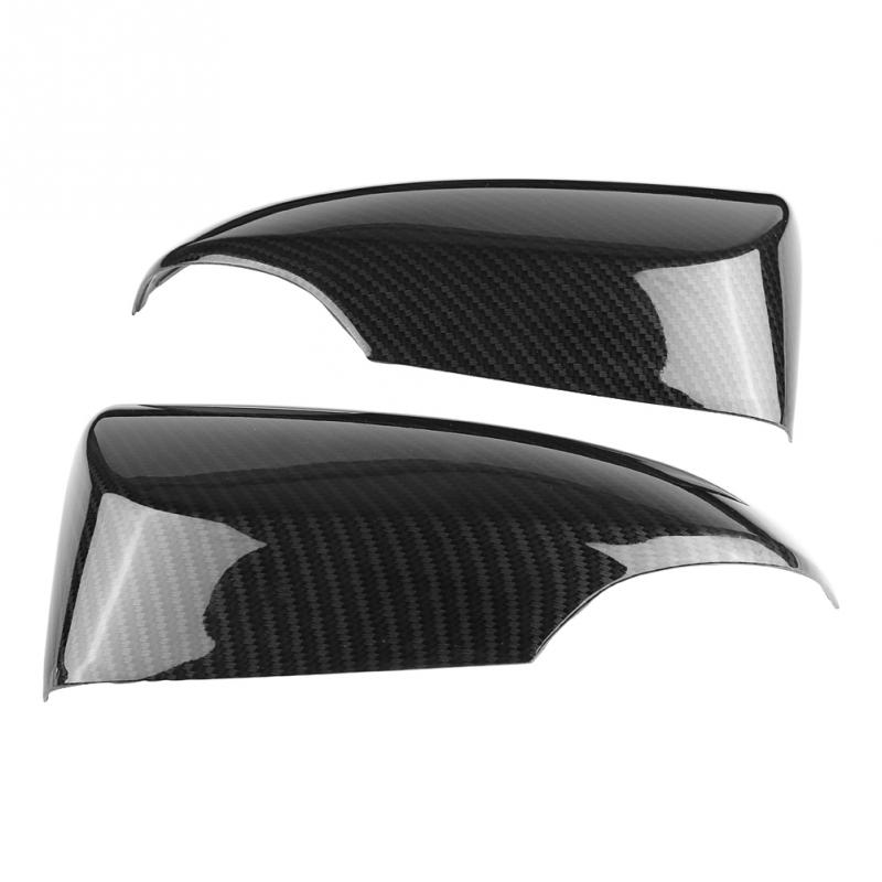 1 Pair of Rear Mirror Cover Carbon Fiber Style Rear View Side Mirror Cover Trim Fit for Toyota CHR Auto Accessories New