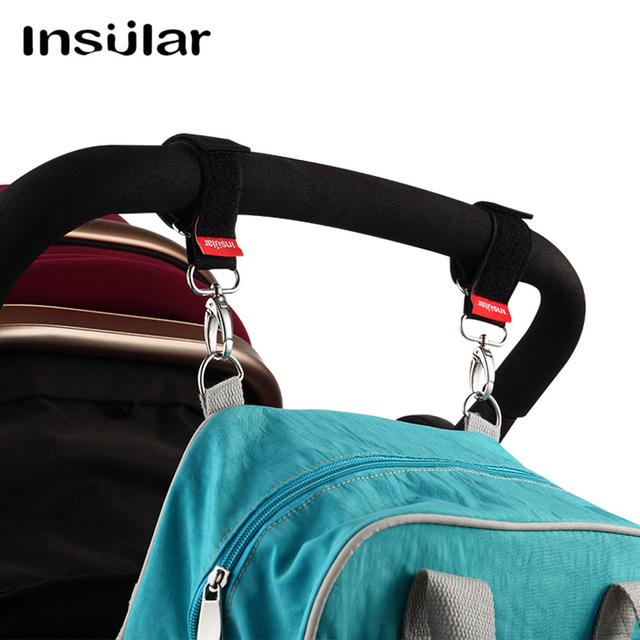 2 Pairs Baby Stroller Hooks Baby Stroller Accessories Car Hanger Hooks Pram Pushchair Buggy Hanging Straps