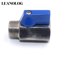 BSPP Screw Thread Water Oil Gas Stainless Steel SS304 One Piece 3/4
