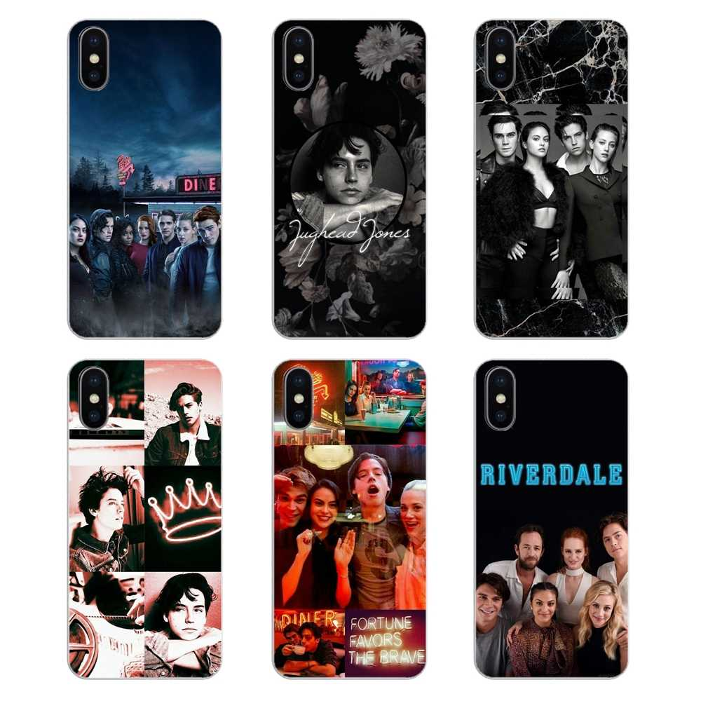 Silicone Phone Shell Cover American TV Shows Riverdale For Motorola Moto X4 E4 E5 G5 G5S G6 Z Z3 G3 C Play Plus
