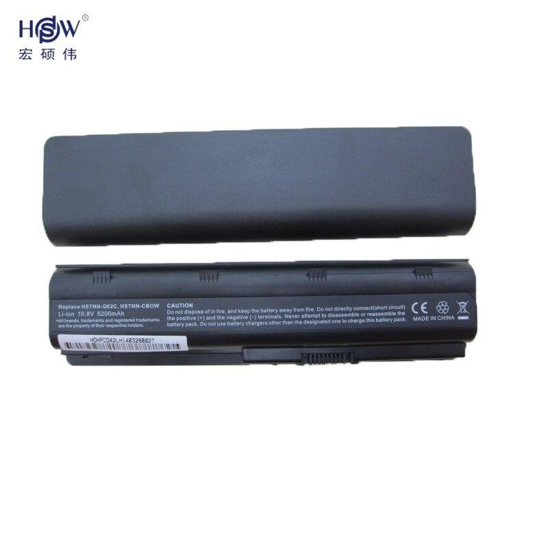 Yellow River Electronic LLC 5200MAH 6CELLS Laptop Battery For HP COMPAQ Q32 CQ42 CQ43 CQ56 CQ57 CQ58 CQ62 CQ72 HSTNN-DB0W HSTNN-IB0W HSTNN-LB0W HSTNN-LB0Y