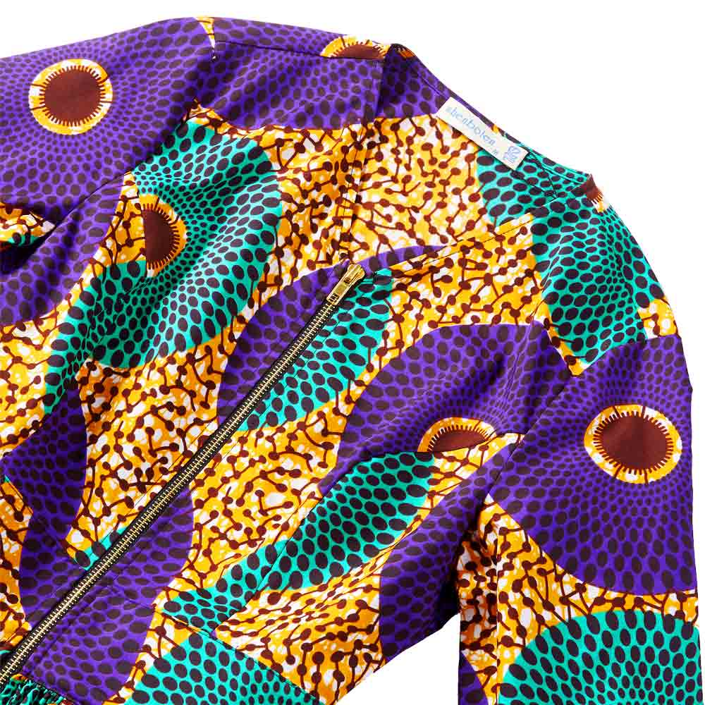 African Clothes for Women Long Sleeve high waist Jacket Ankara Print Plus Size Lady fashion J in Africa Clothing from Novelty Special Use