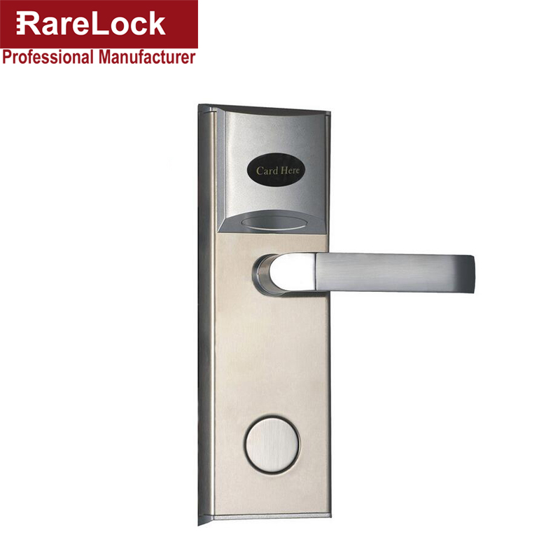 Rarelock Christmas Supplies Electric Door Lock RFID Card for Hotel Flat Apartment Home Intelligence a my apartment