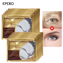 20pcs=10Pair Eyelid Patch Anti-Wrinkle Crystal Collagen Eye Mask Remove Black Deep Moisturizing Skin Anti Wrinkle