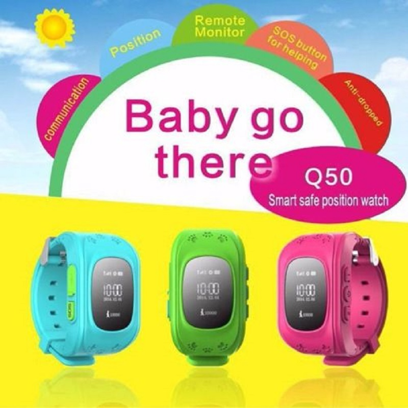 GPS Tracker Smart Djeca Gledajte Double Locate Remote Monitor SOS - Automobilska Elektronika