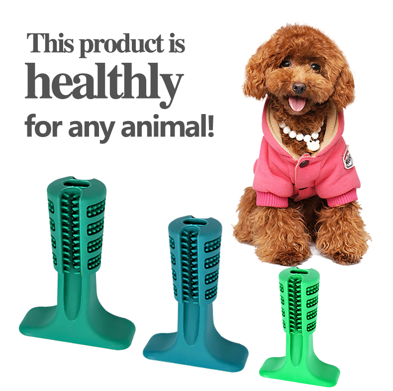 Dropshipping Pet Dog Puppy ToothBrush Chewing Stick Dental Chewer Oral Care teeth cleaning kit DOG Dentist