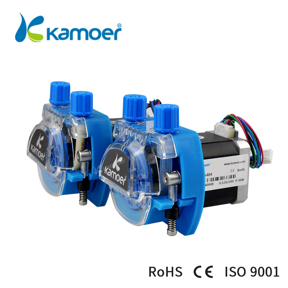 KCM 12V /24V Mini Peristaltic Water Pump With Stepper Motor And BPT/Silicon Tube