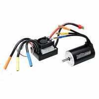 Racerstar 3660 Brushless Waterproof Sensorless Motor 80A ESC For 1 8 1 10 Short Course Rally