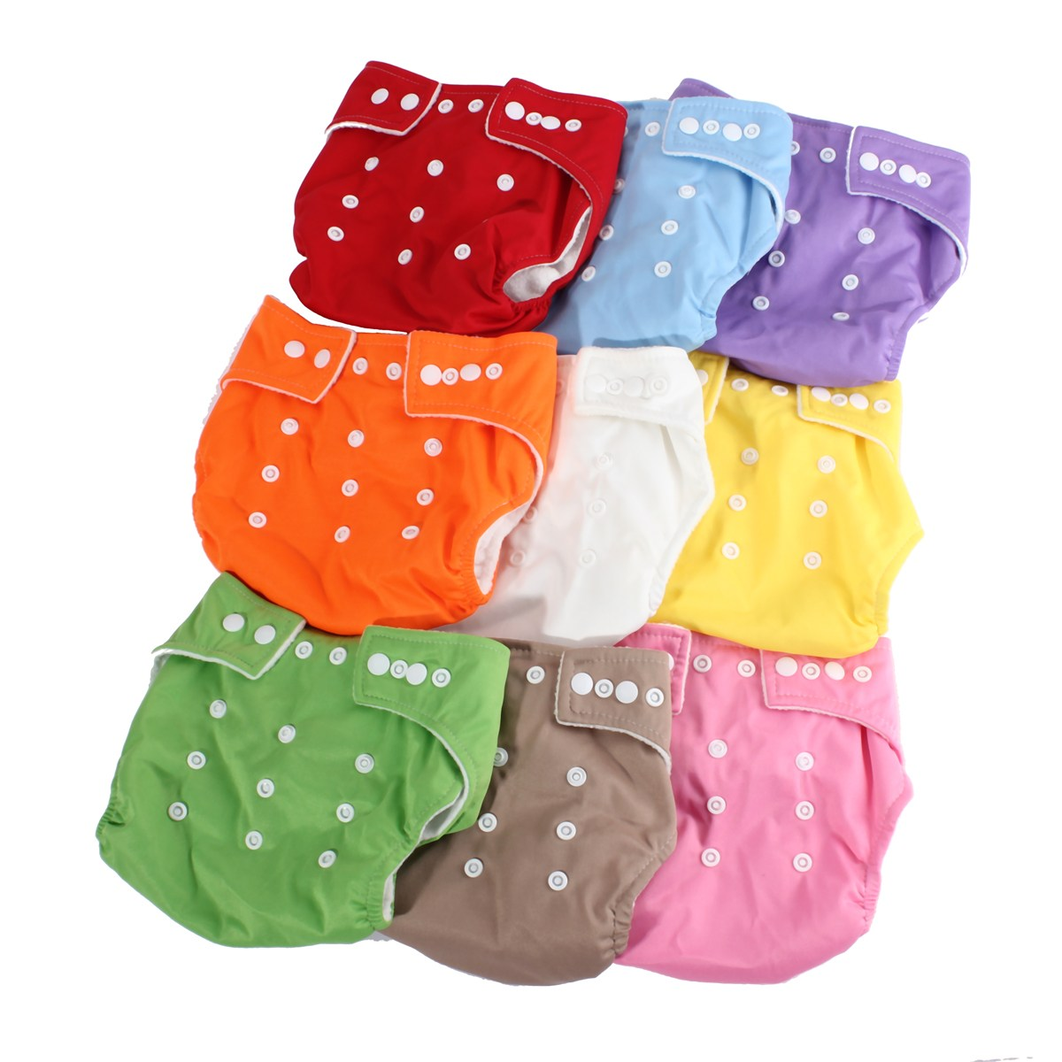 Cloth Diapers New Baby Reusable Washable Cotton Durable Gauze Soft Gentle Infant