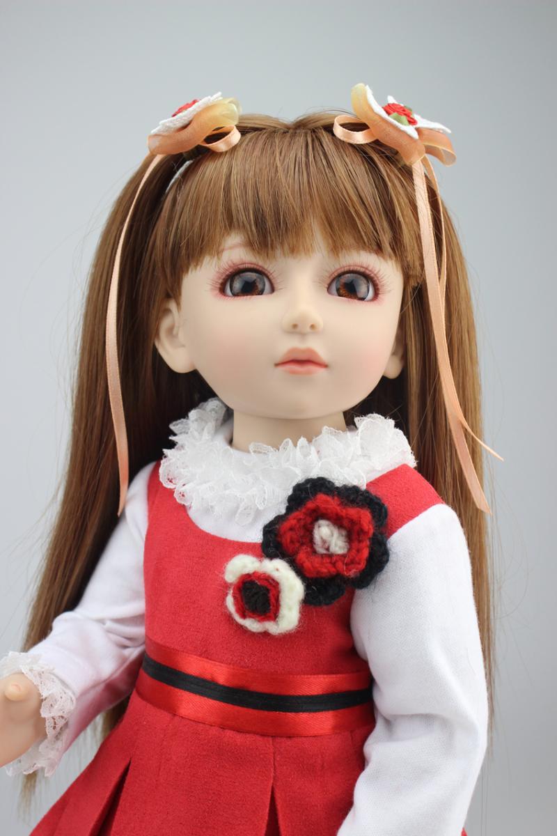 1/4 BJD doll SD doll pretty american princess girl doll vinyl dolls toys for girls gift