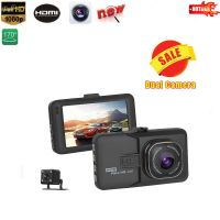 Car DVR Car Camera Dash Cam Dash Camera Video Recorder Dual Camera Oncam T636 1080P Full HD 170 Degree angle G sensor