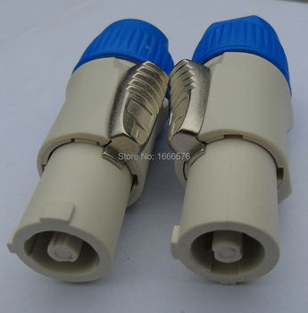 High quality 30 pcs / lot Copy high quality POWERCON NAC3FCB Powercon Cable End Power Out [Gray] Rated at 20A/250V (AC)