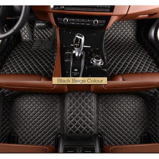 Car Floor Mat For Mercedes Benz W110 W114 W115 W123 W124 W210 W211 W212 AMG E43 E53 E63 200 260 300 350 400 Car Styling Carpets