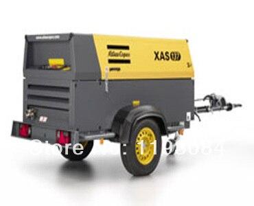 Mobile Air Compressor >> Atlas Copco Xas137 Portable Air Compressor Portable Air