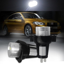 купить 1 Pair LED Car Fog Light Bulbs For BMW 3 Series E90 E91 LED Car Headlight 6000K White Light Auto LED Light Lamps дешево