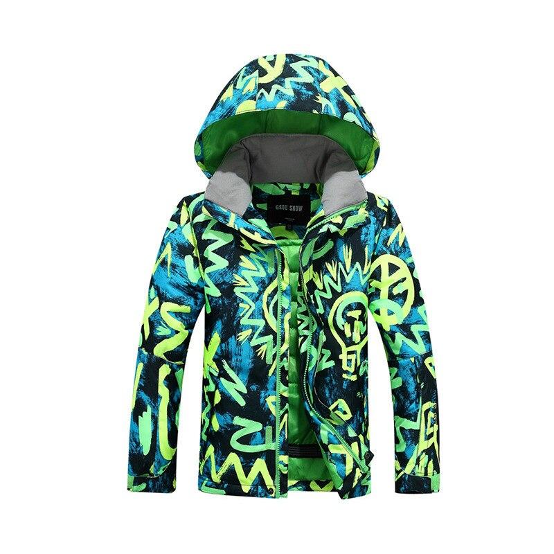 Prix pour NIUMO Nouveaux Garçons veste De Ski enfant adolescents Garçon Coupe-Vent et imperméable à l'eau En Plein Air ski vêtements Veste