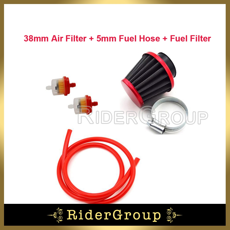 Responsible Red 45 Degree 42mm Atv Dirt Bike Air Filter Cleaner 125cc 140cc 150cc 4-stroke Bikes Atv Parts & Accessories Cover For Honda/kawasaki/suzuki Engines