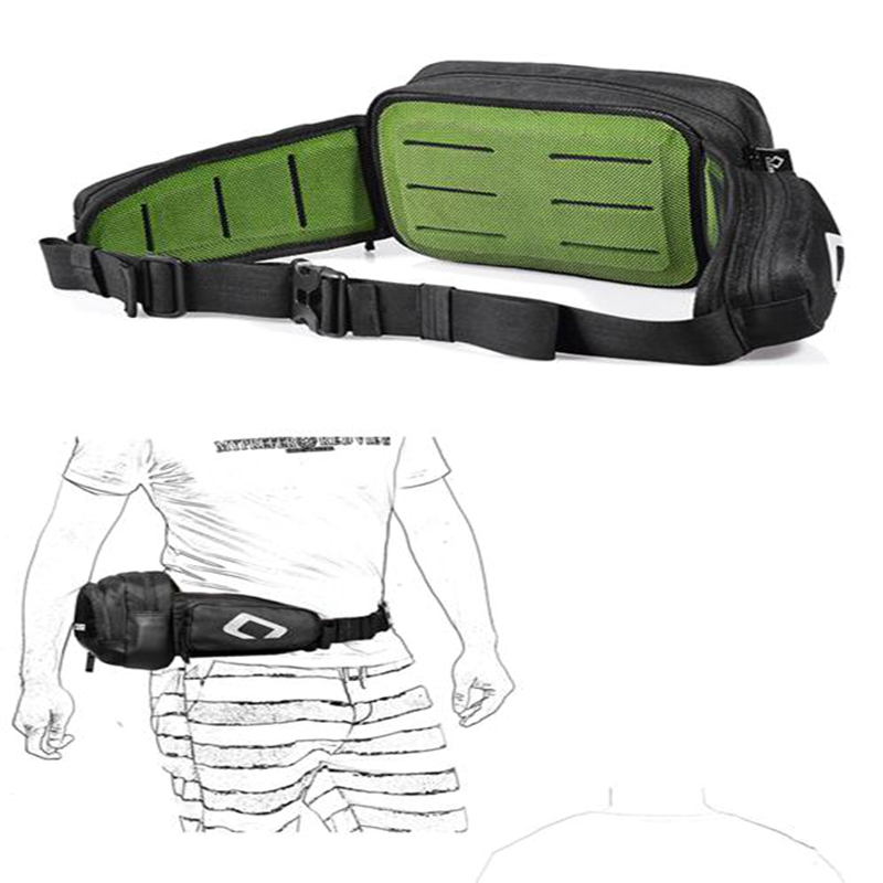 New Hot Adult Motorcycle Sports Belt Pack Oxford Drop Waist Fanny Pack Belt Bag