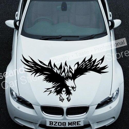 Круто! Тотем орла серии tt023 B Авто Наклейка Стикеры ПВХ (черный, белый, красный, серый цвет) ...