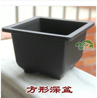 Imitation Purple Plastic Flower Pot Balcony Square Bonsai Bowl Nursery Basin Pots Planter Rectangle In From Home Garden On