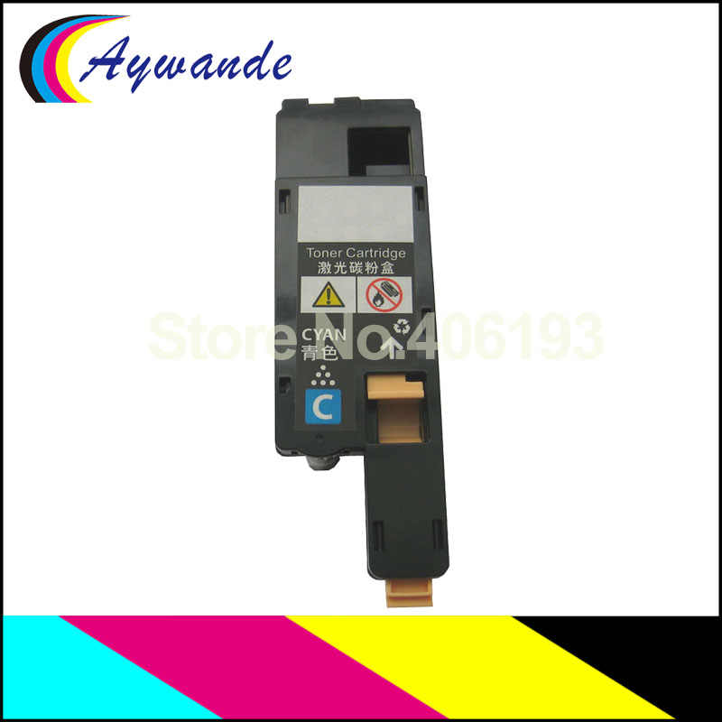1x cartucho de tóner para Epson AcuLaser C1700 1700 C1750 1750 CX17 para S050614 S050613 S050612 S050611