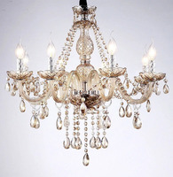 Candal Light Fashion Crystal Dining Room Chandelier Cristal Decoration Tiffany Chandeliers Lustres De Cristal Indoor Lamp