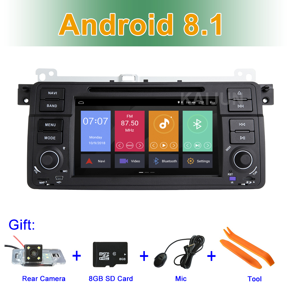 Android 8.1 Car DVD Stereo Player for BMW E46 M3 with Radio BT Wifi GPS цены
