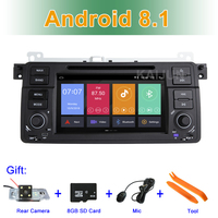 Android 8.1 Car DVD Stereo Player for BMW E46 M3 with Radio BT Wifi GPS