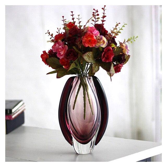 Exceptional Murano Glass Vase Types Of Flower Vase Table Vase Crystal Handmade Glass  Vase