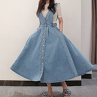 NORMOV Denim Dress W...
