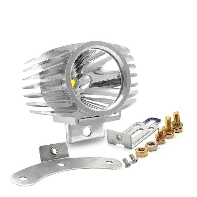 Led Car External Headlight White High/Low Motorcycle Drl Headlight Spotlight Drive Fog Spot Lights