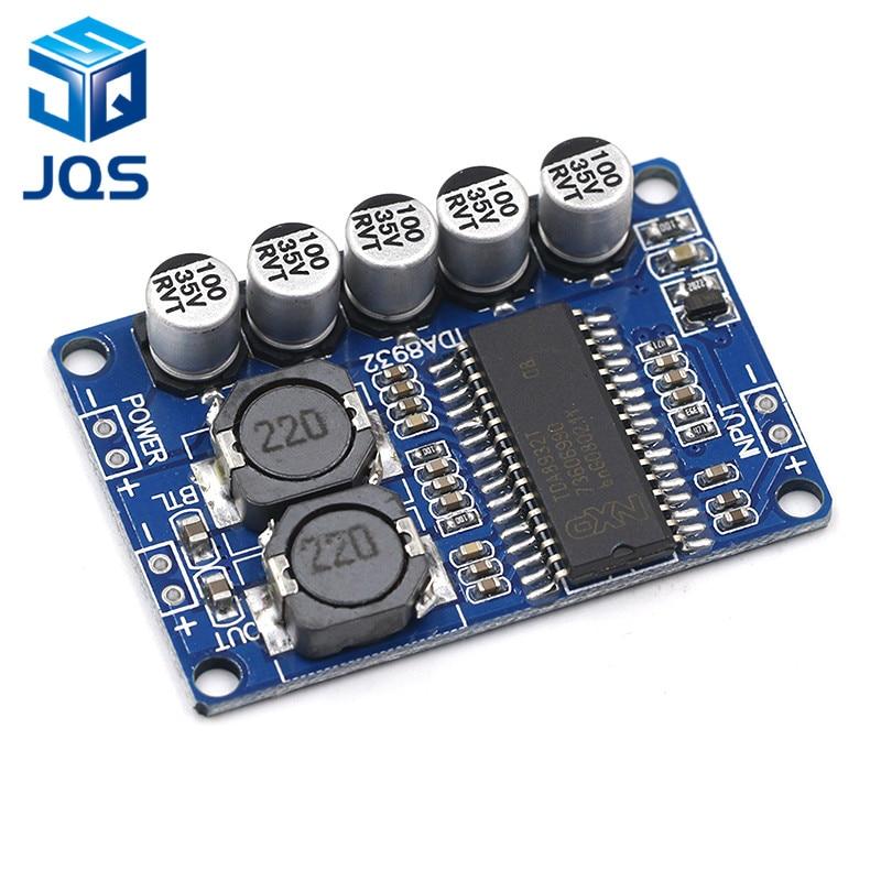 Digital Power Amplifier Board Module 35w Mono Amplifier Module High-power TDA8932 Low Power Consumption