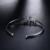 Atacado Real 18 K Ouro Branco Natural Sapphire Pulseira Charme Bangle Jóias Com Diamantes Para As Mulheres Do Partido