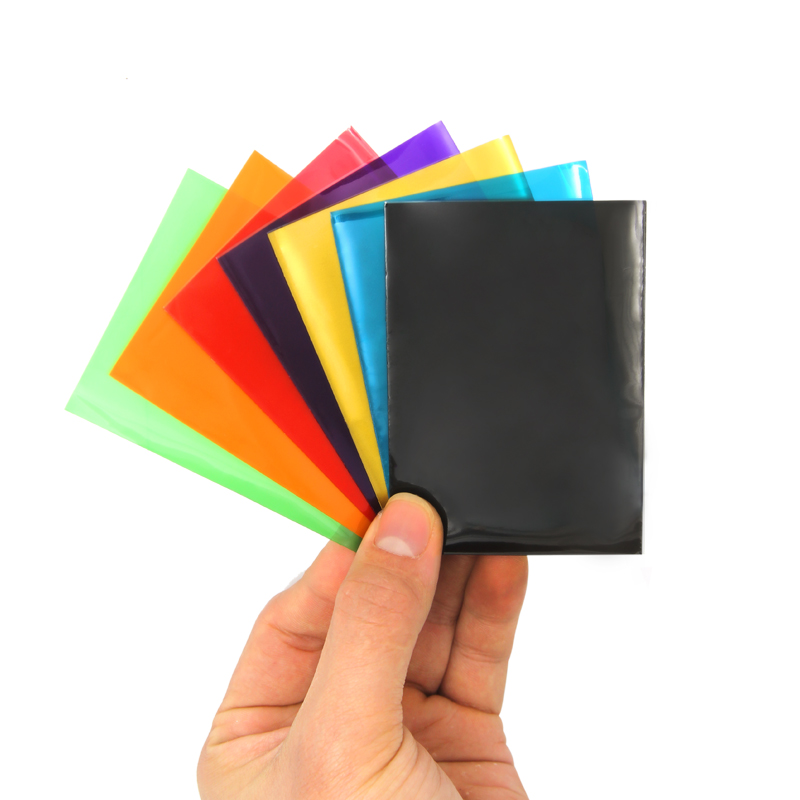50 PCS Matt Scrub Muticolor Back Card Protector For Board Game Cards Magic The Gathering Yugioh Pokemon Card Sleeves For TCG