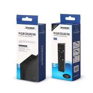 Image 5 - קונסולת אוהדים קרירים פלייסטיישן 4 Slim USB חיצוני 3 אוהדי טורבו טמפרטורת קירור USB כבל עבור PS4 Slim משחק קונסולה