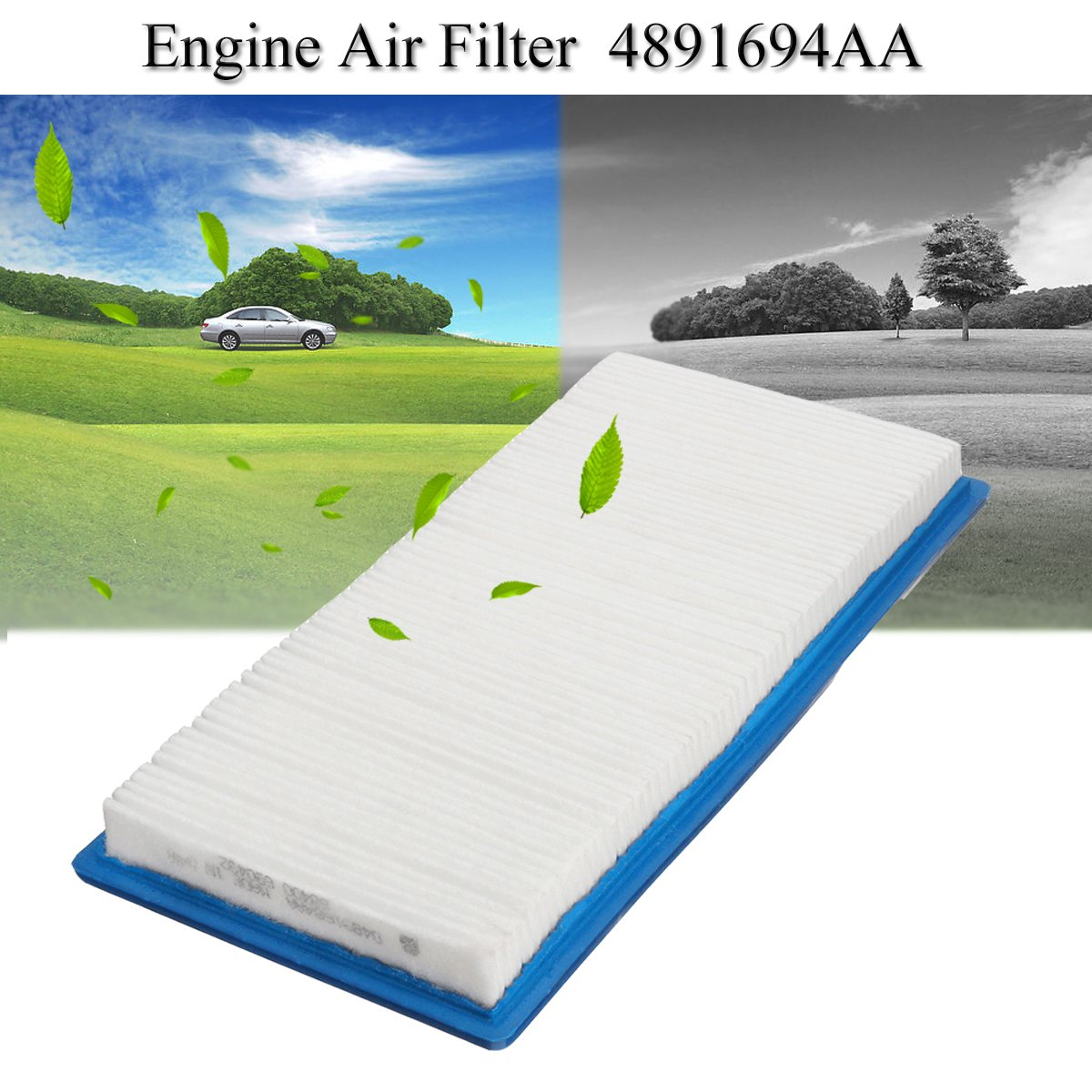 Engine Air Filter For Jeep Compass Patriot Dodge Caliber 2007 2010 Fuel Location 4891694aa In Filters From Automobiles Motorcycles On Alibaba