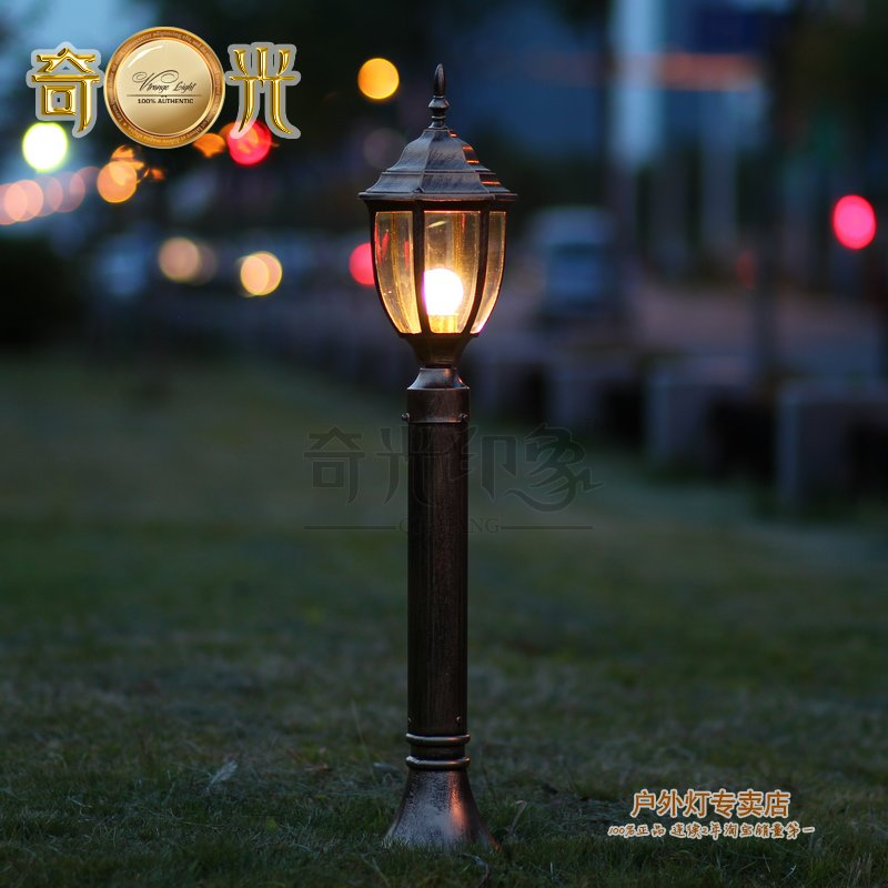 Aliexpresscom Buy BlackBronze 80CM LED Lawn lamp garden lights